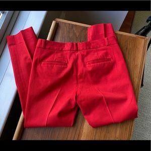 Banana Republic Sloan pant Red size 4S